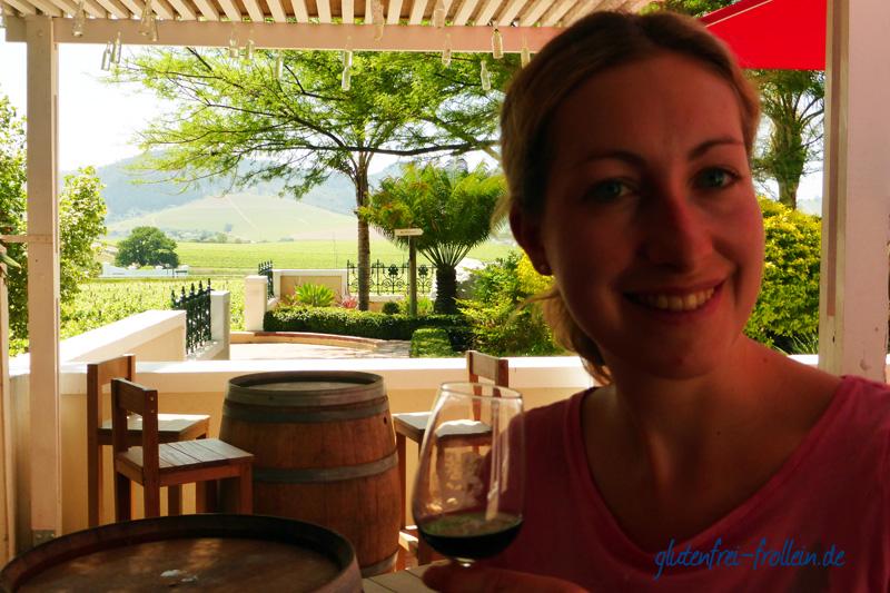 Stellenbosch Weinprobe