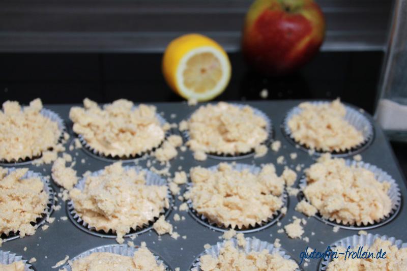 glutenfreie apfel muffins_auf blech
