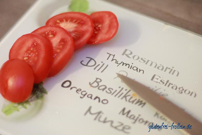 geschnittene Tomaten