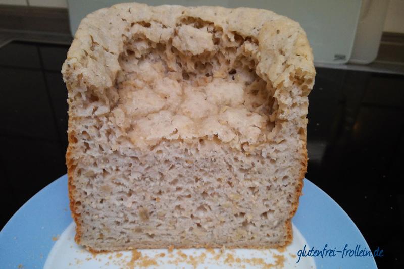 erste Backversuche nach der Diagnose Zöliakie: glutenfreies Brot