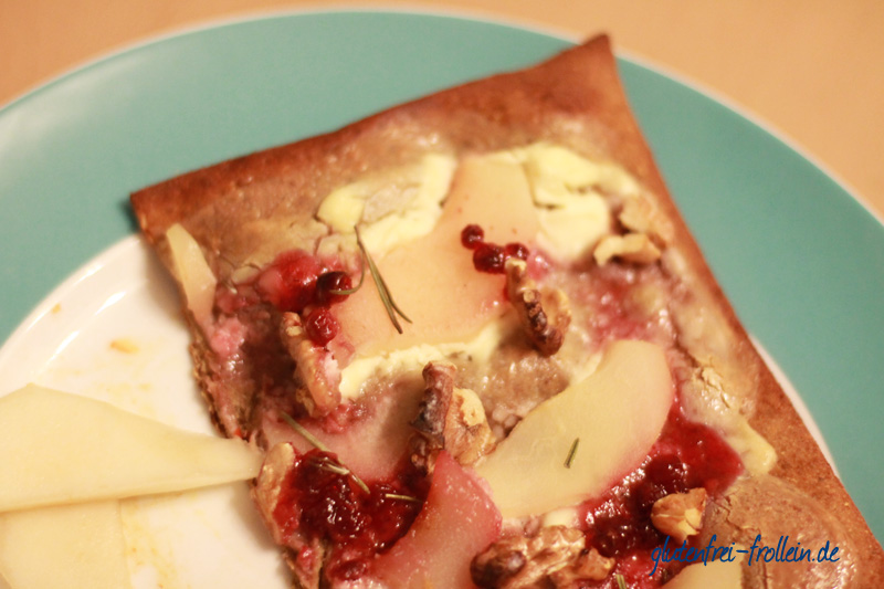 lizza glutenfrei nach flammkuchenart