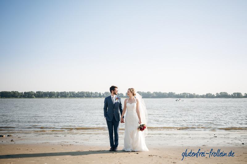 Hochzeit am ELbstrand