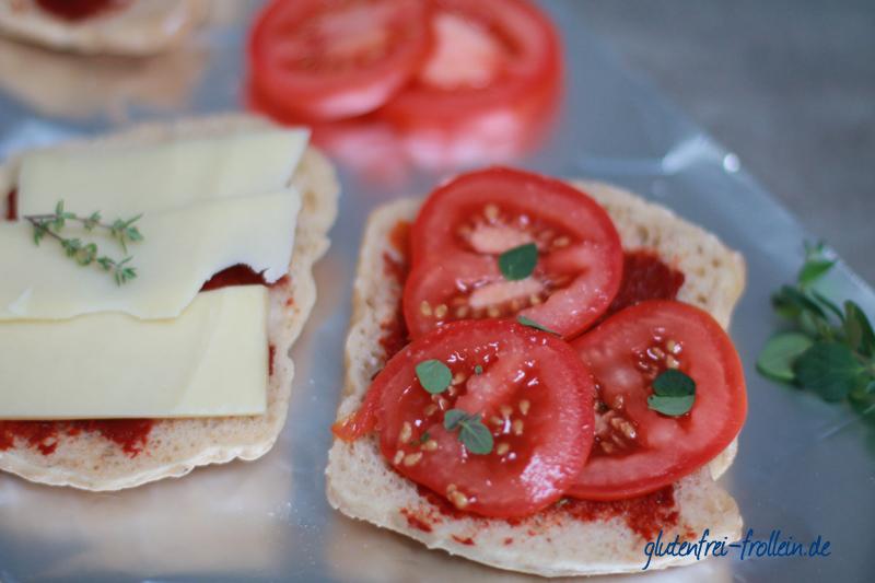 vegetarischer tomaten kaese sandwich vom grill_zubereitung
