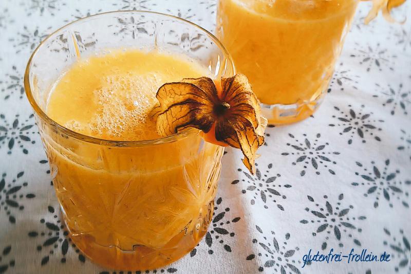 5 glutenfreie getraenke_gelber smoothie