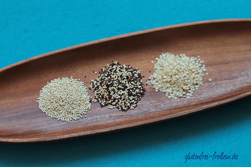 glutenfreies Getreide_Quinoa und Quinoaflocken