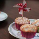 glutenfreie Kirsch-Joghurt-Muffins mit Mandeln