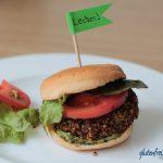 veganer Quinoa Burger mit Chia