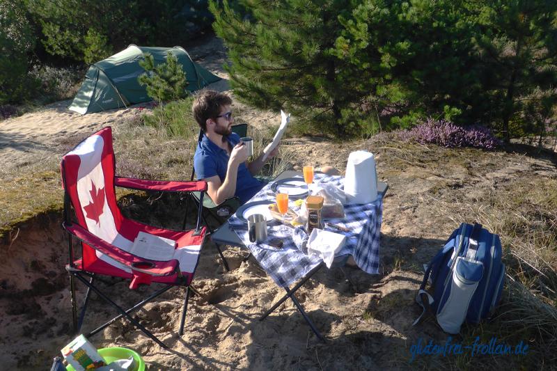 glutenfreies Frühstück Campingplatz Wittdün Amrum