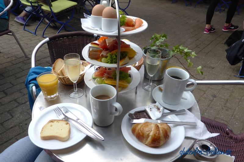 glutenfreies Frühstück Kaffeeflut Amrum