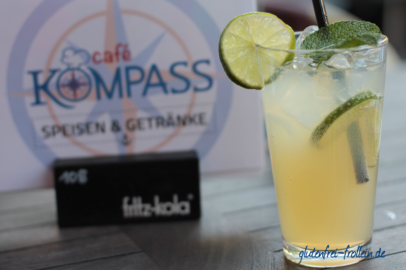 hausgemachte Limo im Cafe Kompass in Hamburg