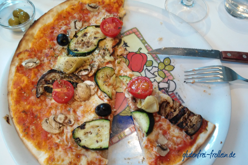 glutenfreie pizza im Rudolphs in Hamburg