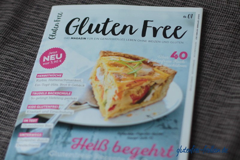 lesetipp gluten free das glutenfreie genuss magazin glutenfrei frollein. Black Bedroom Furniture Sets. Home Design Ideas