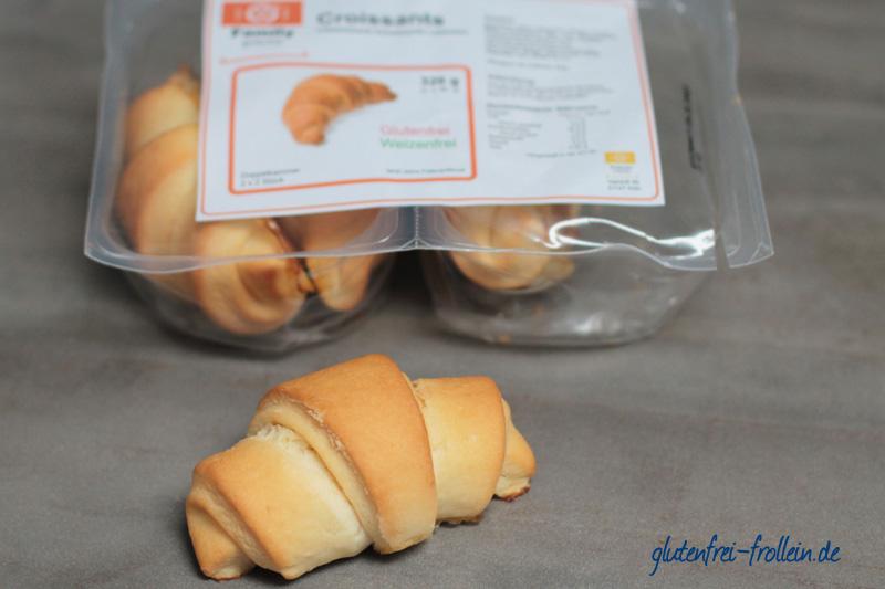 Family glutenfrei_glutenfreies Croissant_mit Packung