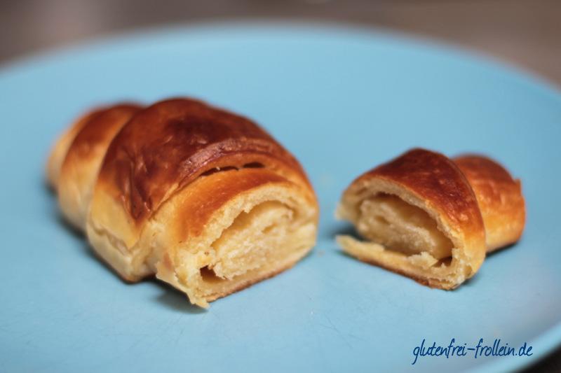 Nur Puur_glutenfreies Croissant_nah