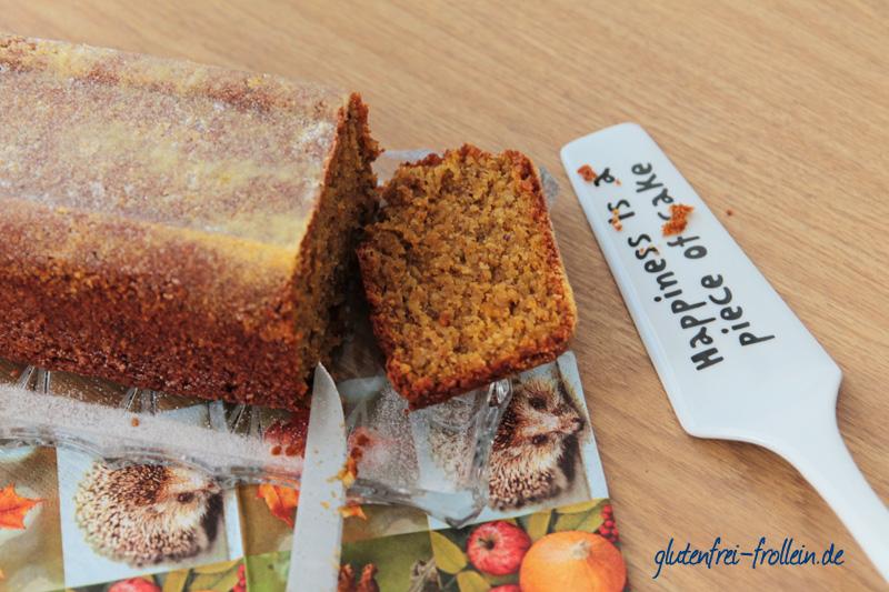 glutenfreier Kürbiskuchen ohne Mehl