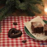 glutenfreie Lebkuchen Brownies