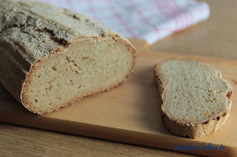 glutenfreies Brot mit knackiger Kruste
