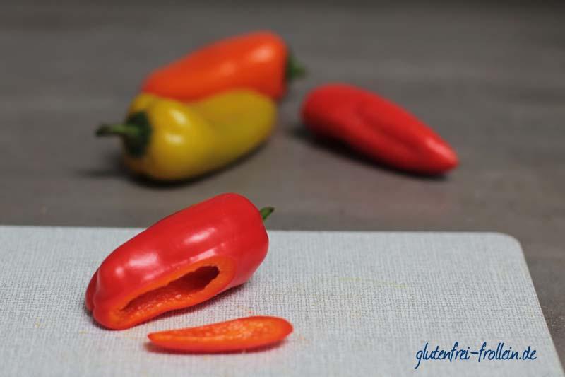 glutenfreies Pausenbrot mit Curry und Haehnchen_Paprika