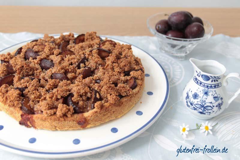 glutenfreier Pflaumenkuchen_Kuchen und Kännchen