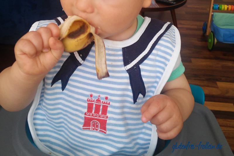 glutenfrei mit Kind_Banane
