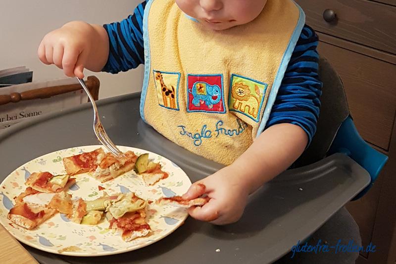 glutenfrei mit Kind glutenfreie Pizza