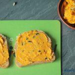 glutenfreies Pausenbrot #2 mit knusprigem Möhren-Ingwer-Aufstrich