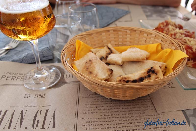 glutenfreies Restaurant MANGIA in Cagliari Sardinien