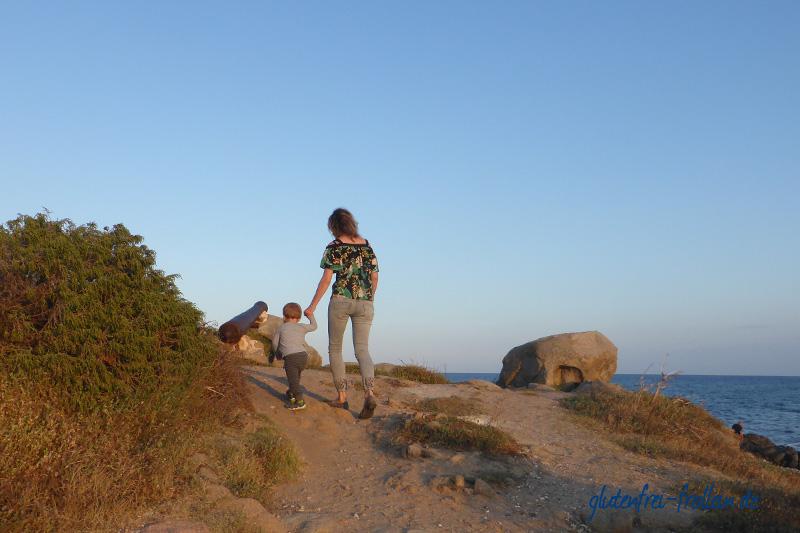 Sardinien glutenfrei mit Kind, Barisardo