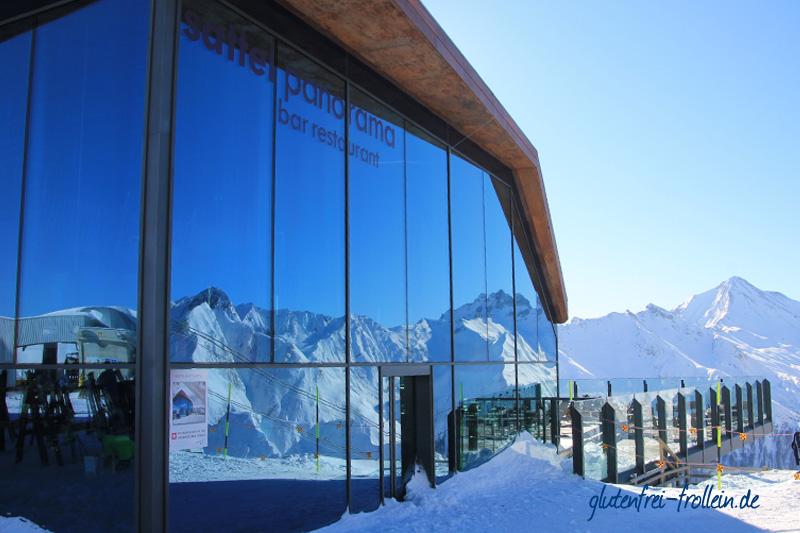 glutenfreier skiurlaub in samnaun_Huette sattel panorama