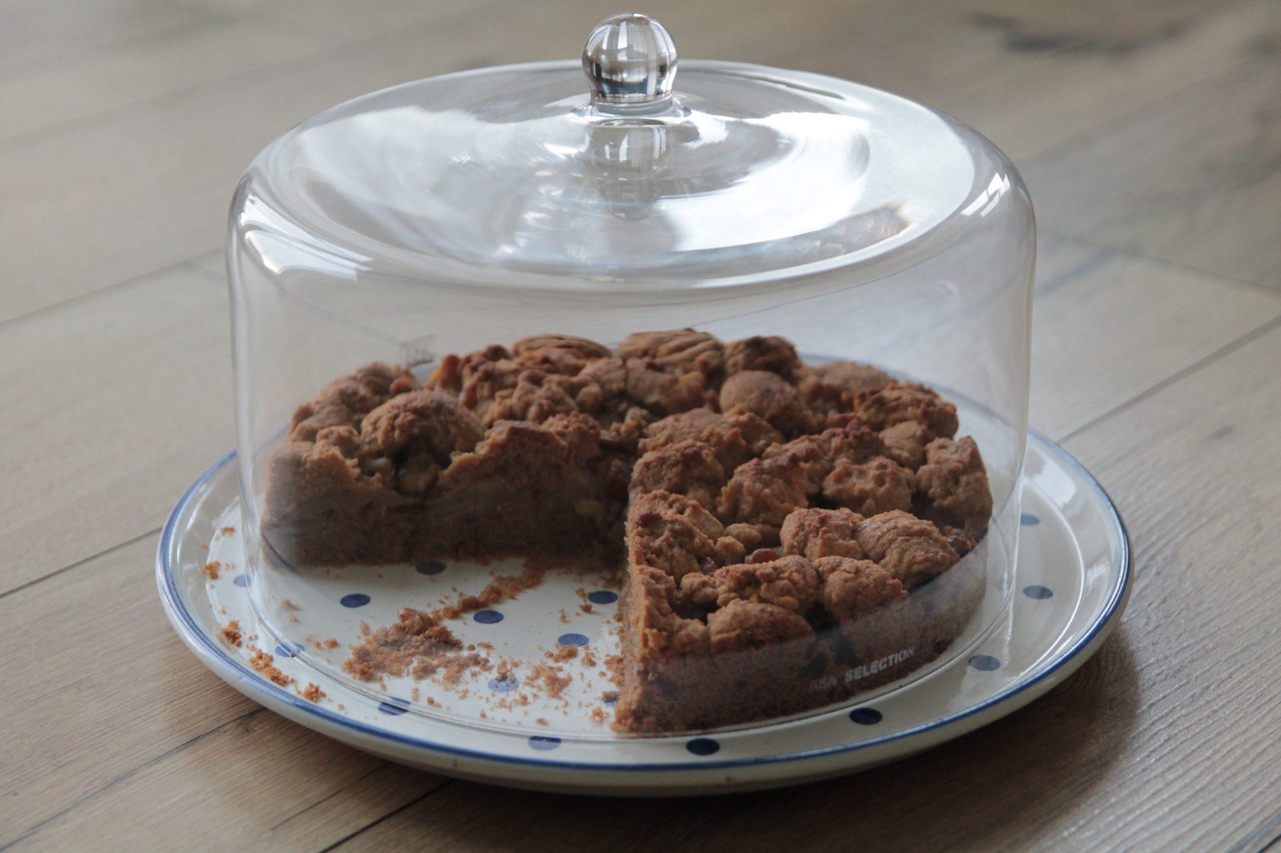 glutenfreier Apfelkuchen mit Streuseln_unter der Haube