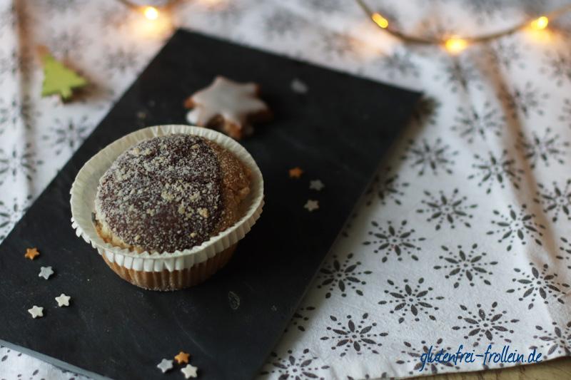 Kuchenparade Zimtstern Frosting - schwarz weiß Kuchen_YB