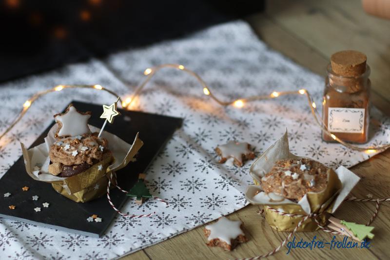 Kuchenparade Zimtstern Frosting - zwei Kuchen Setting_YB