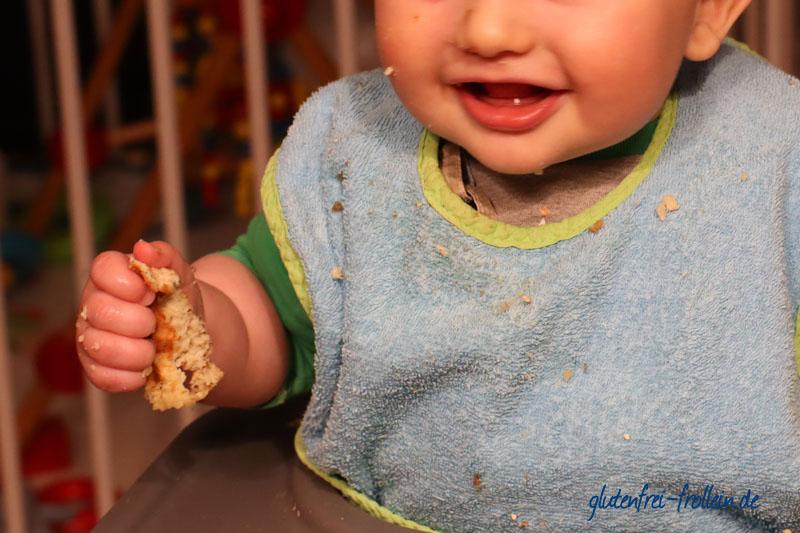 Frühstückswaffeln fürs Baby