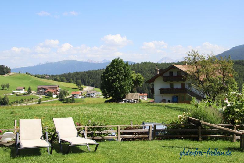 glutenfreier Wanderurlaub_Garten Hotel Dolomitenblick